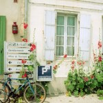 Bicycle and Street Sign in La Flotte