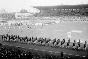Let's go round again: The opening ceremony in Paris of the 1924 Olympic Games