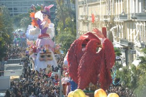 Make way for the parade! The Nice Carnival is one of the oldest and largest carnivals in the world