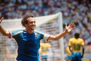 """Le Roi"" - Platini scores against Brazil in the 1986 World Cup Quarter Final"