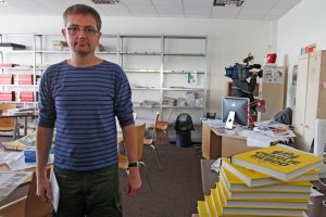 Private fundraiser? Charb was fighting for the very survival of Charlie Hebdo before his death