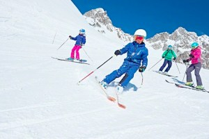 Family Mountain Time: Skiing at Chamonix