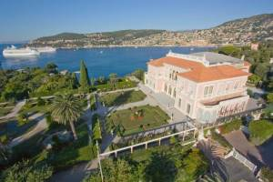 The Villa Ephrussi de Rothschild at Cap-Ferrat (CRT Riviera Côte d'Azur/  Pierre BEHAR)