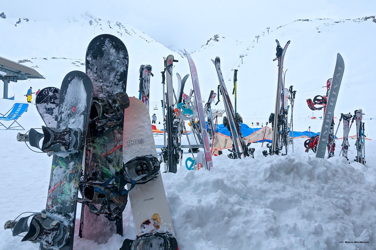 SnowBoards attendant notre retour