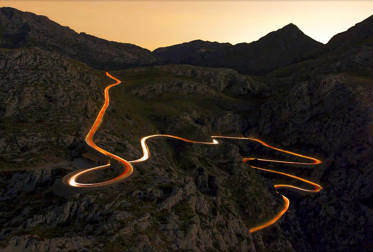 Route Illuminée de cap Formentor