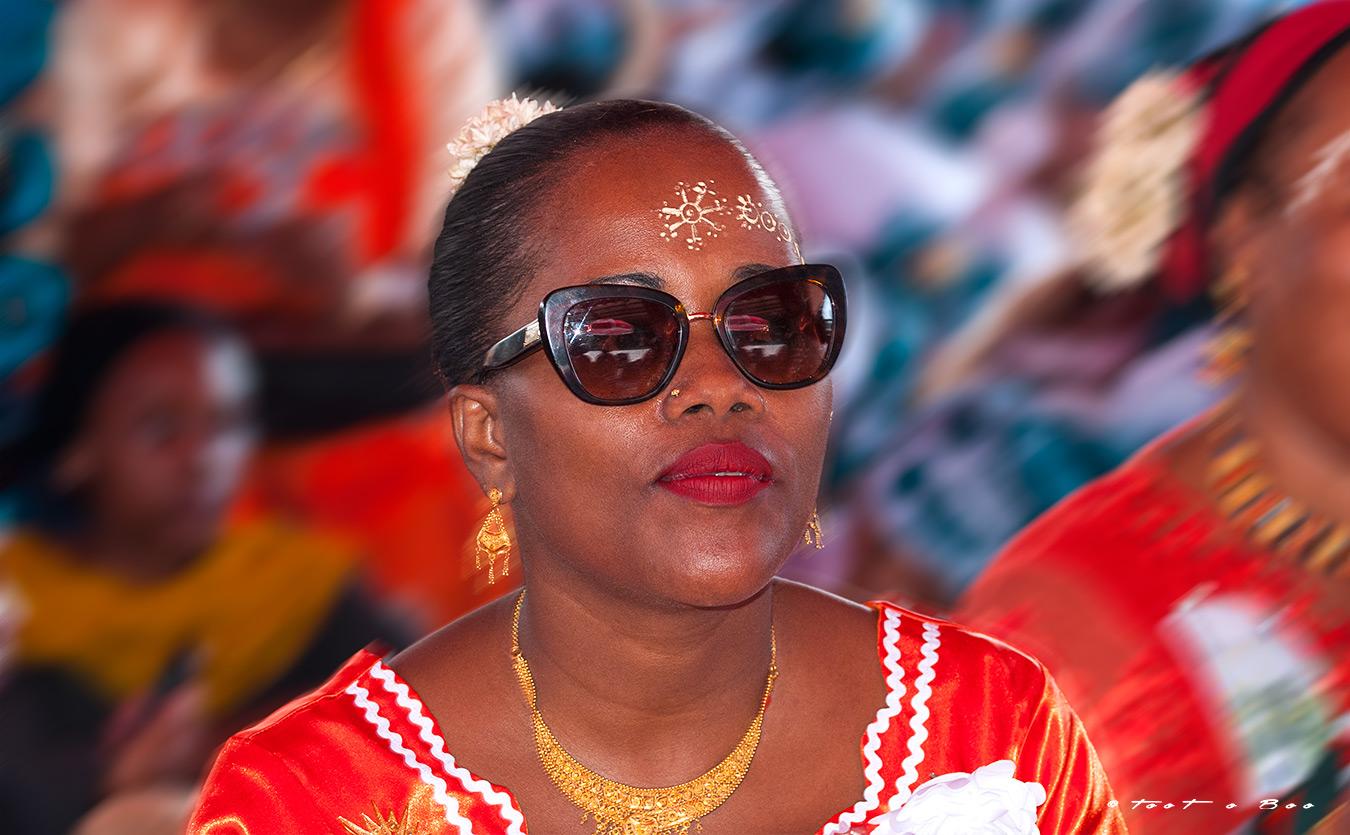 Mahoraise participant au shido-Mayotte