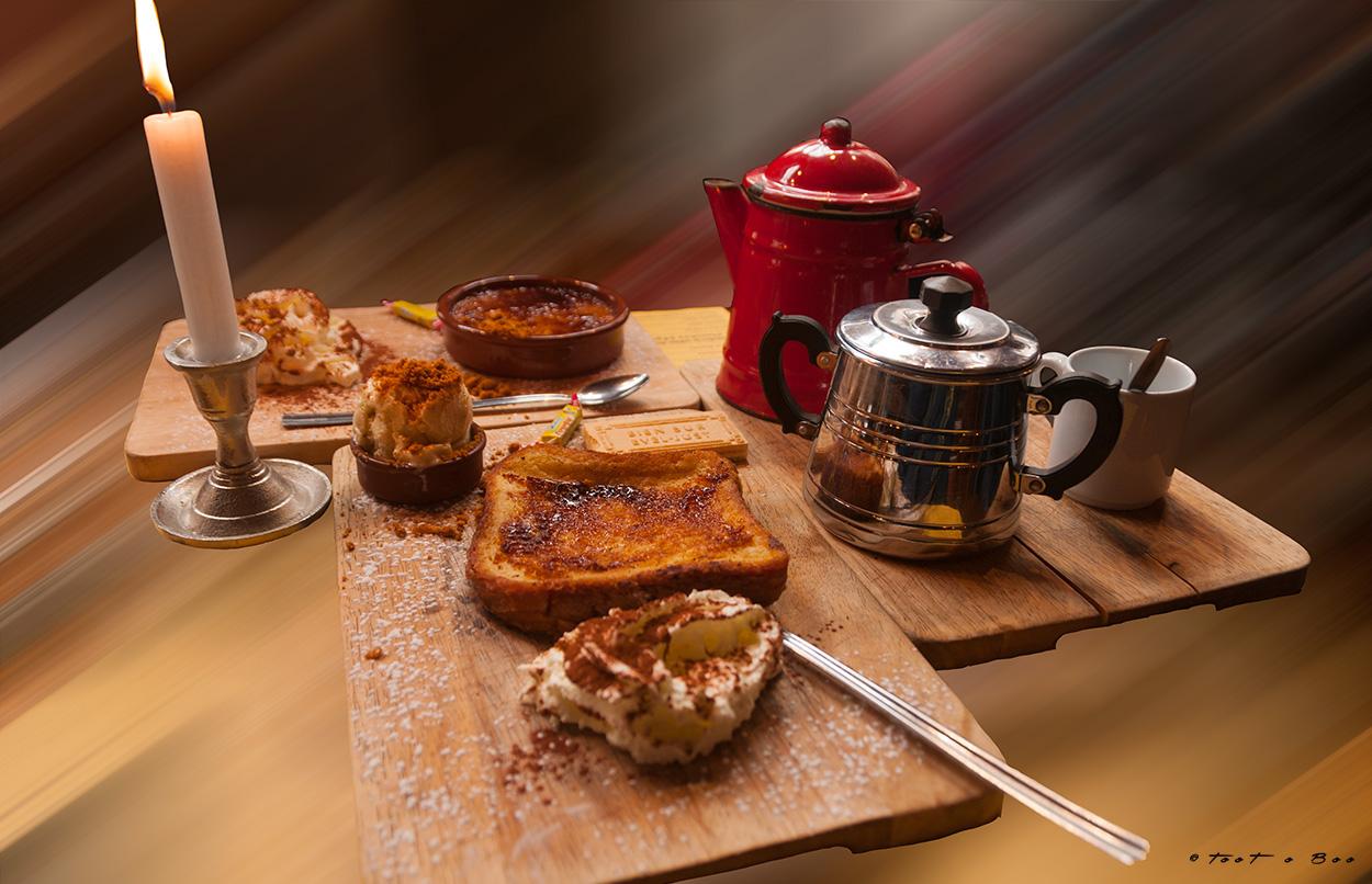 """Café Gourmand de l'estaminet """"aux vieux de la Vielle"""""""