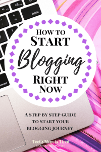 How to Start Blogging Right Now | Thinking of starting a blog? Googling How to Start a Blog? Now is a great time to begin! Here is an easy step by step guide to start blogging right now.