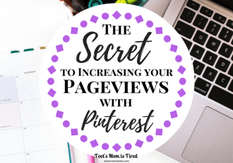 The Secret to Increasing Your Pageviews with Pinterest