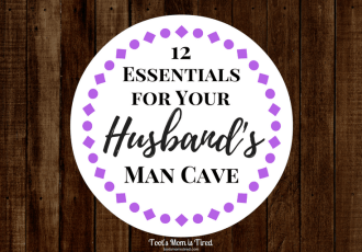 12 Essentials for Your Husband's Man Cave