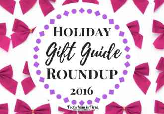 Holiday Gift Guide Roundup 2016