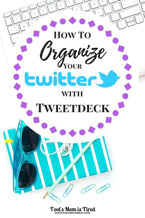How to Organize Your Twitter with Tweetdeck | Here's a blogging tip for you, Twitter is a mess. If you want to use multiple twitter accounts or schedule tweets, Tweetdeck is the way to go.