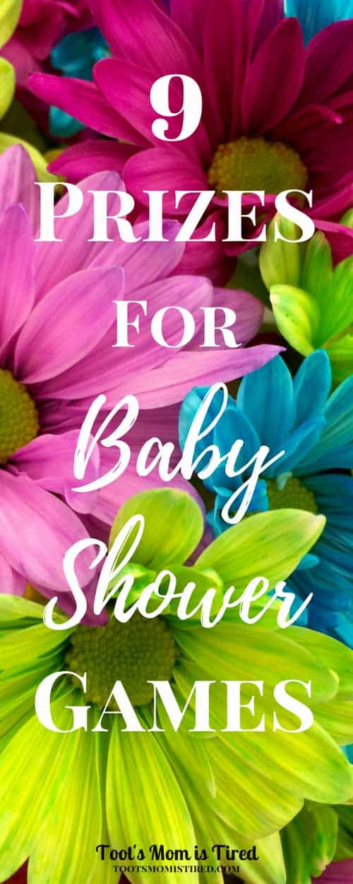 9 Prizes for Baby Shower Games | Shower prize ideas. what to give out as prizes for a baby shower, door prizes