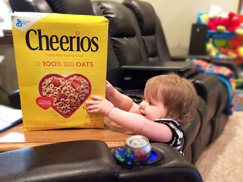cherrios for toddler snacks