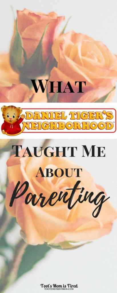 What Daniel Tiger's Neighborhood Taught Me About Parenting | parenting tips, mom life, tv shows for toddlers, educational tv shows, babies, baby, Mr. Rogers Neighborhood, life lessons, motherhood, toddler