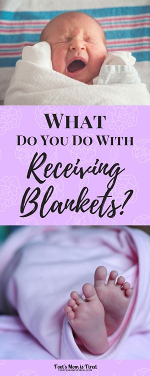 10 Things You Can Do with Receiving Blankets | baby blankets, toddlers, upcycle, recycle, tips, mom hacks, motherhood, parenting, mom life, babies, mom blogger, swaddle, What are receiving blankets for?, What do you do with receiving blankets?
