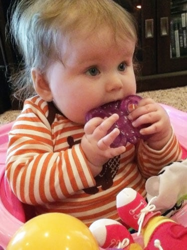 How to Make teething more comfortable for your baby or toddler