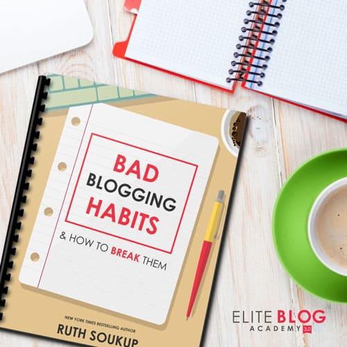 8 Bad Blogging Habits