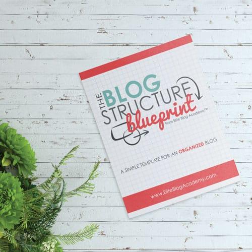 Blog Structure Blueprint