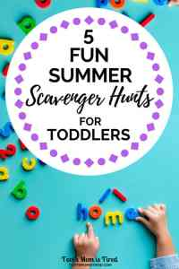 5 Fun Summer Scavenger Hunts for Toddlers | activities for toddlers, one year olds, two year olds, three year olds, 18 months old, summer activities for toddlers, family fun, games for toddlers, #toddlers #toddleractivities #scavengerhunts #summeractivities #familyfun