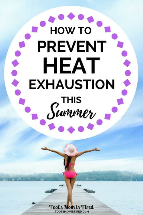 How to Stay Cool and Prevent Heat Exhaustion This Summer | heat stroke prevention, heat illness, heat sickness, heat intolerant, stay cool outside, hot temperatures, nano ice, motherhood, parenting, #summer #summer2018 #summergoals #heatexhaustion #heatstroke