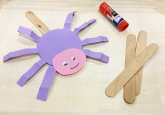 halloween spider crafts for toddlers and preschoolers