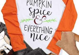 12 pumpkin spice tshirts for fall