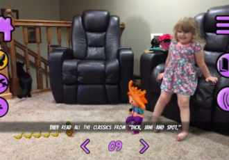 Lizzy's World VR App for Preschoolers