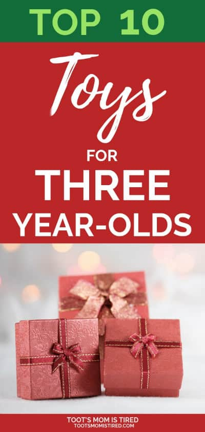 Top 10 Toys for Three Year Olds This Year | toys for 3 year olds, toys for 3yo, christmas gift ideas for preschoolers, toddlers, the best toys of the year, best toys 2018, what to buy a 3 year old for christmas, holidays 2018 #christmas2018 #christmas #giftideas #preschoolers #threeyearolds