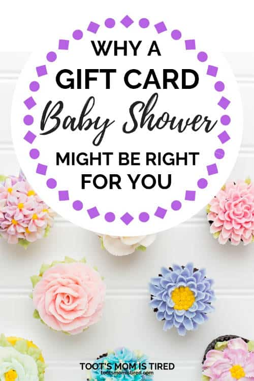 gift card only baby shower