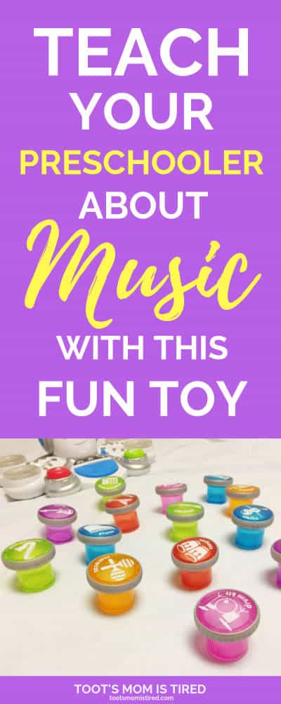Teach Your Preschooler about Music with This Fun Toy | Sponsored | Toys for 3 year olds, toys for 4 year olds, educational toys for preschoolers, the best toys for Christmas 2018 for preschoolers #RocktopusWalmart #preschoolers #preschool