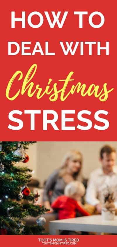 How to Deal with Overwhelming Christmas Stress | Reduce holiday stress with these tips. Christmas 2018, how to have a stress free Christmas, planning for the holiday season, how to keep from being overwhelmed during the holidays, #Christmas #holidays #stress