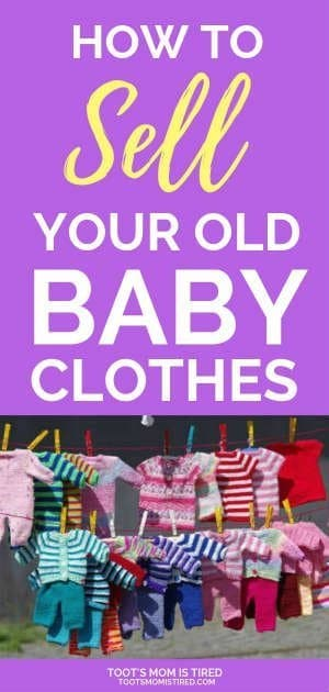 How to Sell Your Old Baby Stuff   How to sell your baby clothes online with facebook buy sell groups or ebay. How baby consignment sales work. How to price your baby stuff for garage sales, yard sales, tag sales. baby clothes resale tips #babies #baby #parenting #momlife