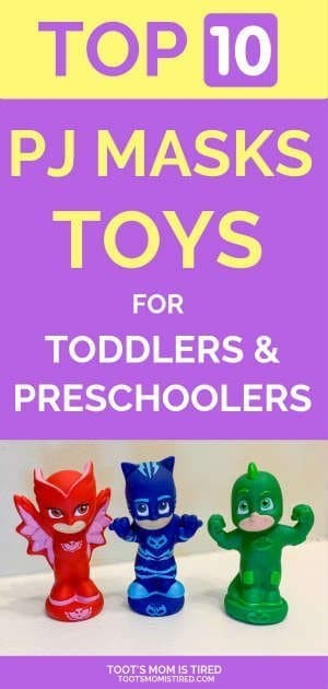 Top 10 Best PJ Masks Toys for Toddlers and Preschoolers | Disney Junior toys, PJ Mask toys featuring Cat Boy, Owlette, Gekko, and their vehicles, bath toys, what to buy a three year old, two year old, four year old for their birthday or Christmas, Gift ideas for kids, #PJMasks #toys #toddlers #preschoolers