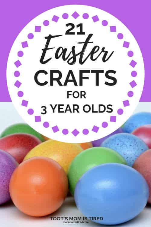 easter crafts for 3 year olds