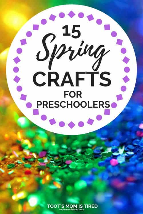 15 Spring Crafts for Preschoolers