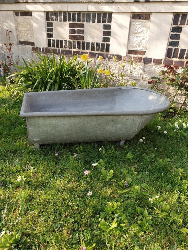 zinc jardin garden brocante