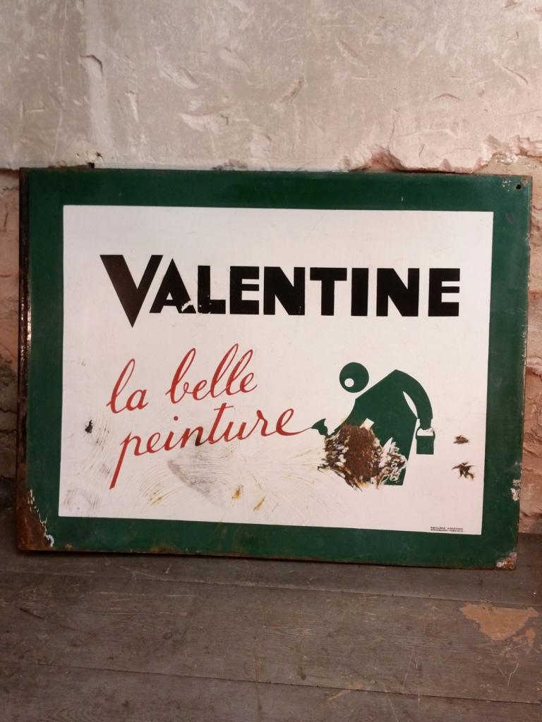 Plaque Maille Peinture Valentine