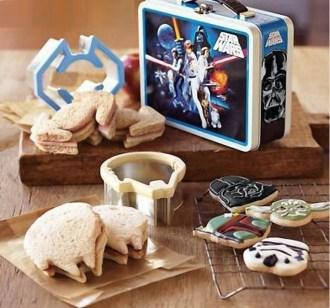 Star Wars Sandwich Cutters