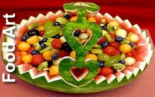 Top 10 Food Art and Things Made From Food