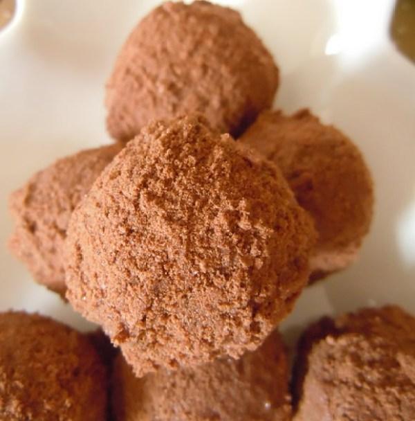 Milo Choc-Malt Truffles