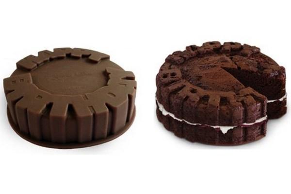 Happy Birthday Text Cake Mould