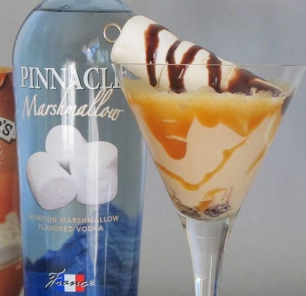 Chocolate Caramallow Cocktail