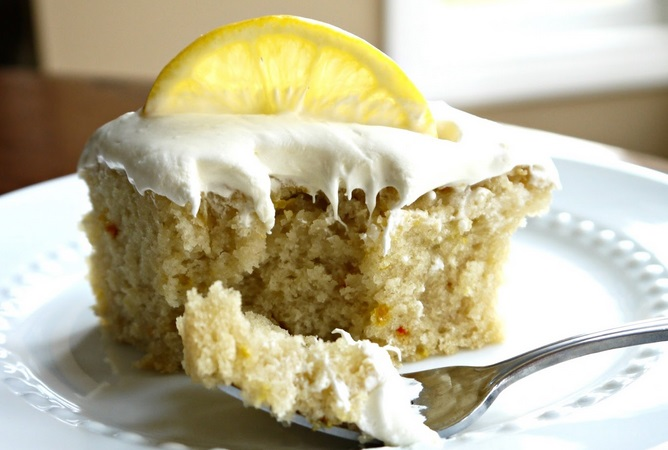 Lemon War Cake