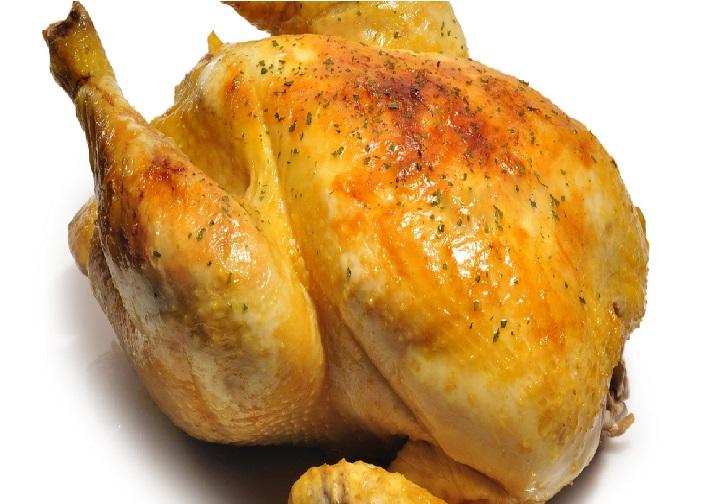 Roast Chicken Braised in Milk