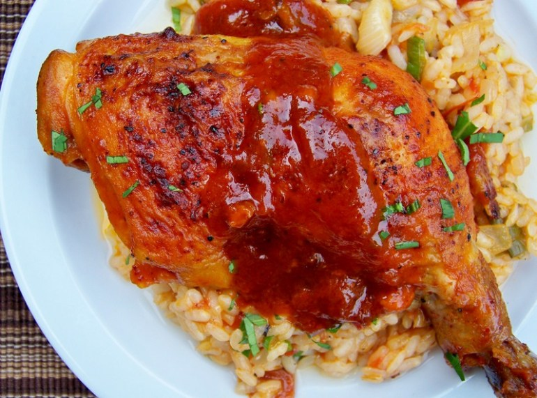 Chipotle-Roasted Chicken