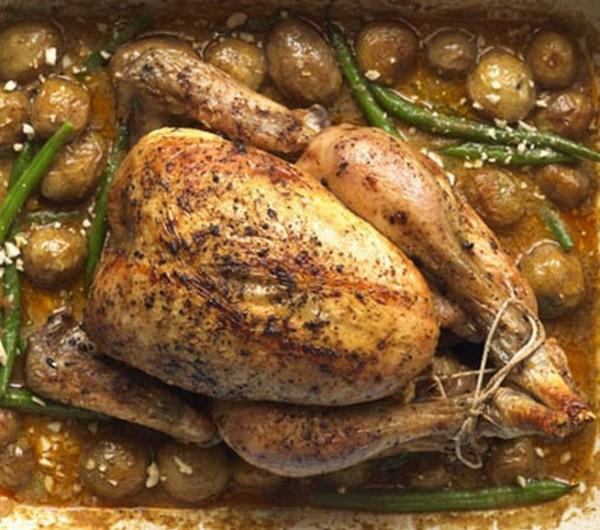 Massaman curry roast chicken