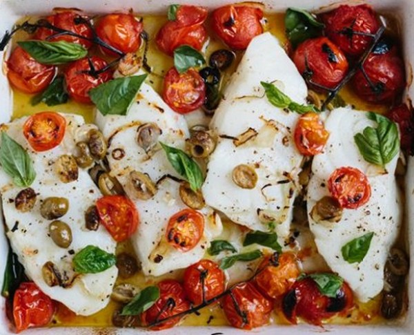Wolfgang Puck's Pan-seared Sea Bass