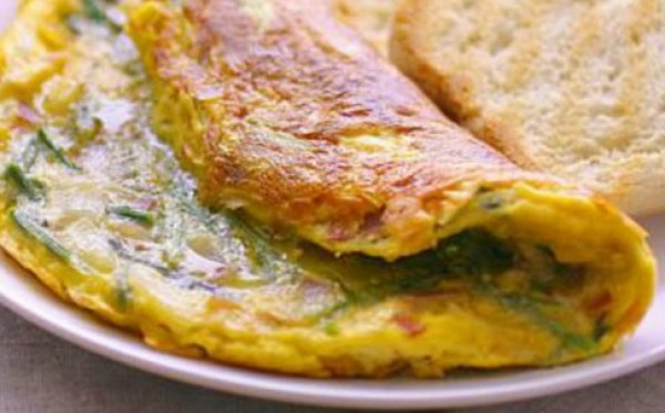 Ham and Broccoli Frittata