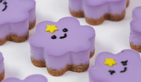 Lumpy Space Princess Cheesecakes
